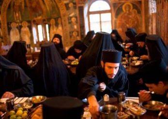 Dieta calugarilor de la Muntele Athos