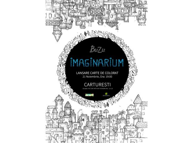 "Lansare de carte – eveniment: ""Imaginarium"" de Ana Stefania Andronic (BUZU)"