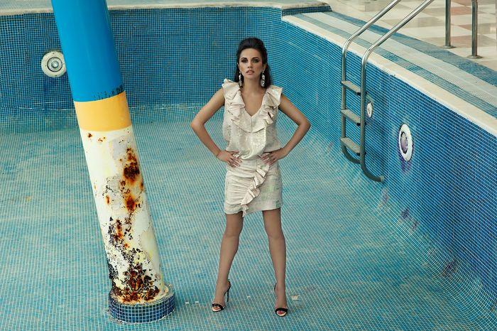 Designerul Mirela Popa (ex-Stelea) a lansat o noua colectie si a realizat o sedinta foto incendiara