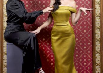Designerul Laura Hincu si povestea celor mai frumoase rochii din matase: cum le accesorizam si unde la purtam?