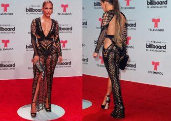 Billboard Latin Music Awards 2017: vezi ce tinuta spectaculoasa a purtat Jennifer Lopez!