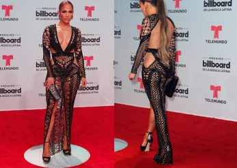 Billboard Latin Music Awards 2017: vezi ce tinuta spectaculoasa a purtat Jennifer Lopez!