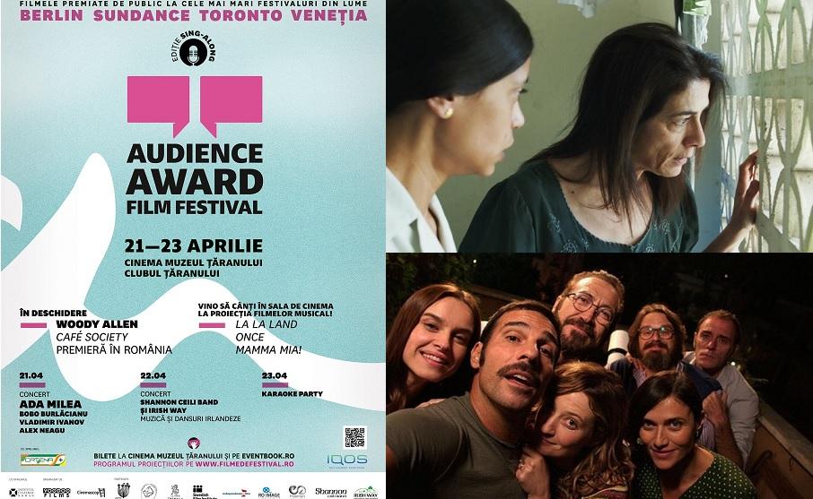 Audience Award Film Festival 2017, cu sprijinul Catena, iti aduce filme premiate si concerte la Muzeul Taranului Roman