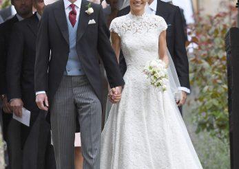Sora Ducesei de Cambridge, Pippa Middleton, s-a casatorit: imagini de la nunta