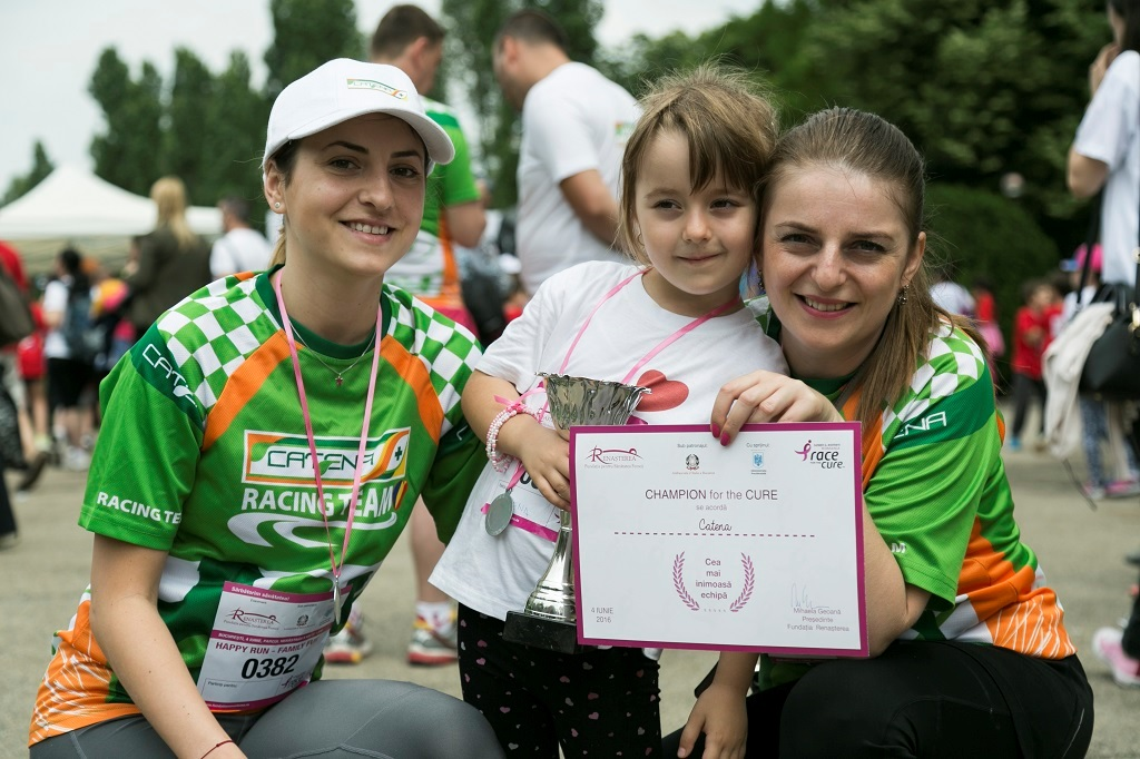 CATENA, alaturi de Happy Run! – Race for the Cure Romania, editia a III-a!