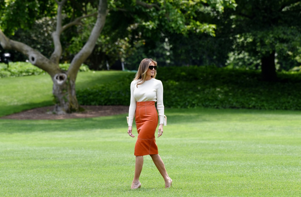 Melania Trump, un stil vestimentar demn de aplauze