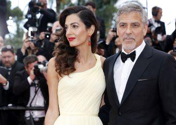 Amal si George Clooney, parinti pentru prima data. Sotia celebrului actor a nascut gemeni