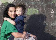Emma Zeicescu, pictorial emotionant de ziua fiului sau, Idris