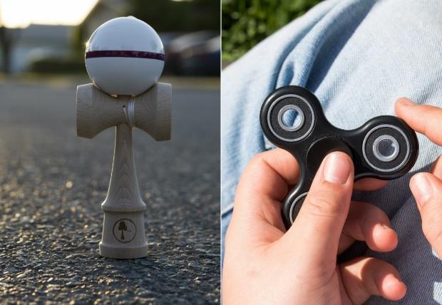 Fidget spinner si kendama: jucariile interactive si beneficiile acestora pentru copilul tau