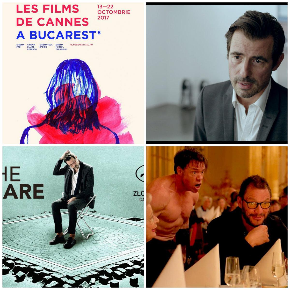 "Castigatorul Palme d'Or 2017, ""The Square"", in deschiderea Les Films de Cannes a Bucarest!"