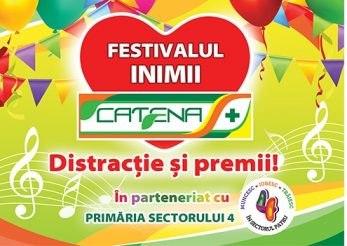 Festivalul Inimii Catena te asteapta in weekend la superconcerte Lidia Buble, Alex Velea, Pepe si Nico!