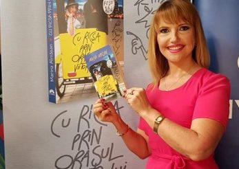 """Agenda plina pentru Marina Almasan: a lansat cartea """"Cu ricsa prin orasul viitorului"""", iar de luni revine cu """"Femei de 10, barbati de 10"""""""