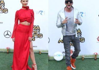Alina Eremia si Dorian Popa prezinta Media Music Awards 2017, la Bucuresti!