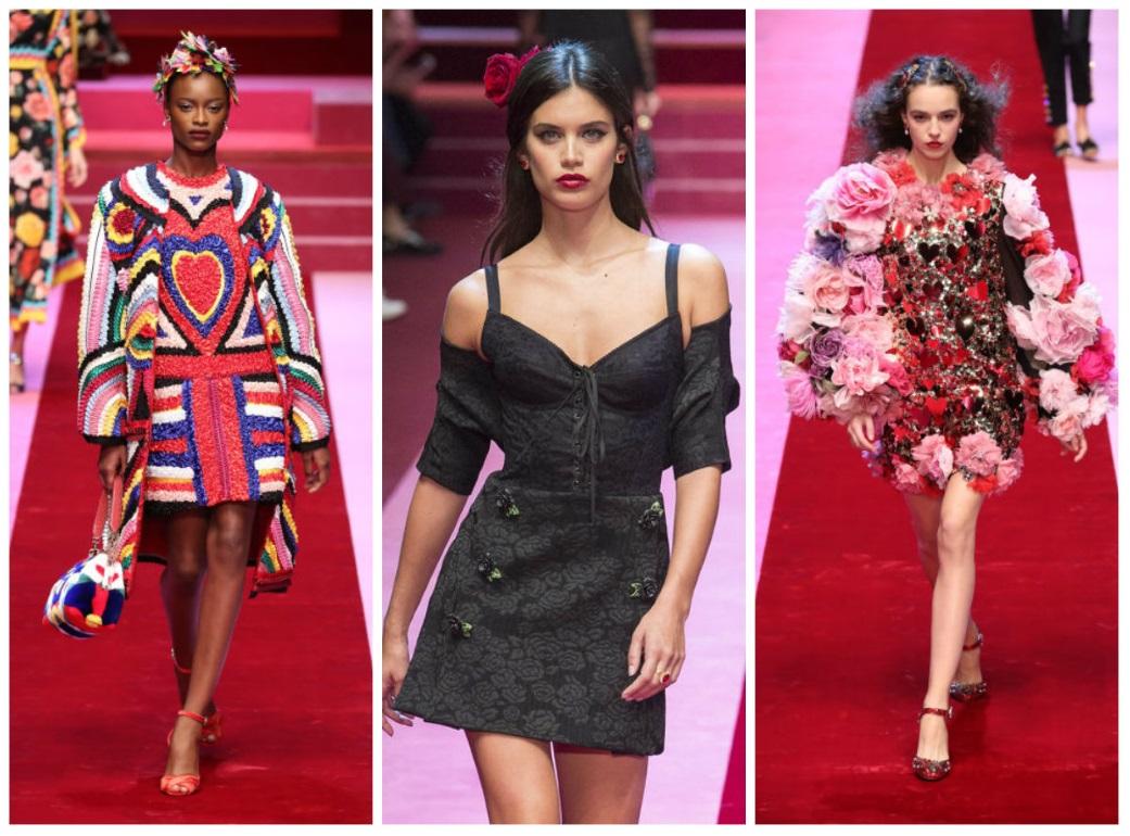 Show spectaculos Dolce & Gabbana la Saptamana Modei de la Milano: afla tendintele!