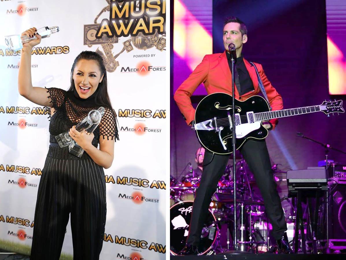 Stefan Banica si Andra vor canta la Media Music Awards