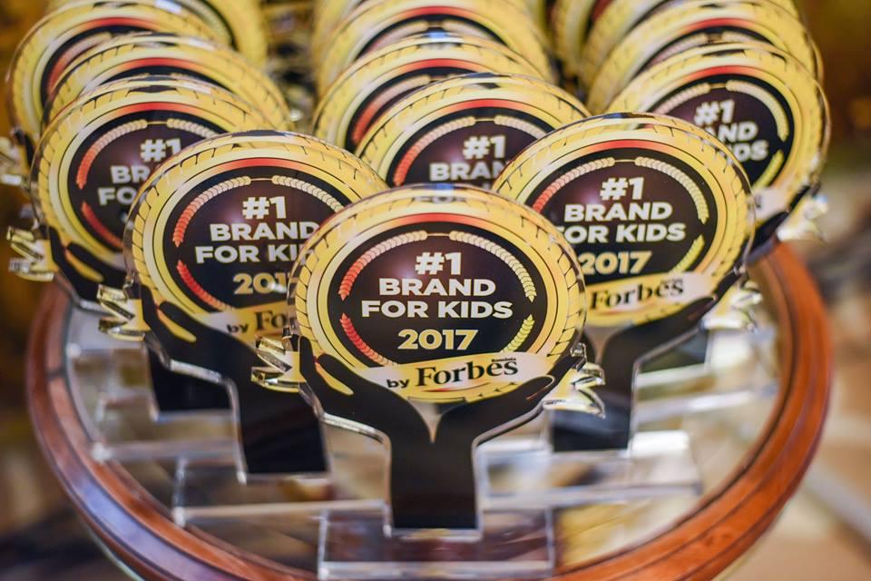 Catena a primit trofeul Brands For Kids, pentru al doilea an consecutiv