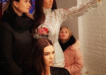 Ela Craciun s-a pozat cu Kim Kardashian la Londra