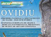 Eveniment cultural OVIDIU – 2000 de ani de la moartea autorului Ponticelor, la Palatul Bragadiru