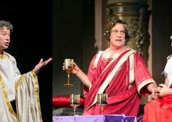 Actorii Cristian Iacob, Marius Bodochi si Carmen Ionescu, omagiu de exceptie la 2000 de ani de la moartea lui Ovidiu
