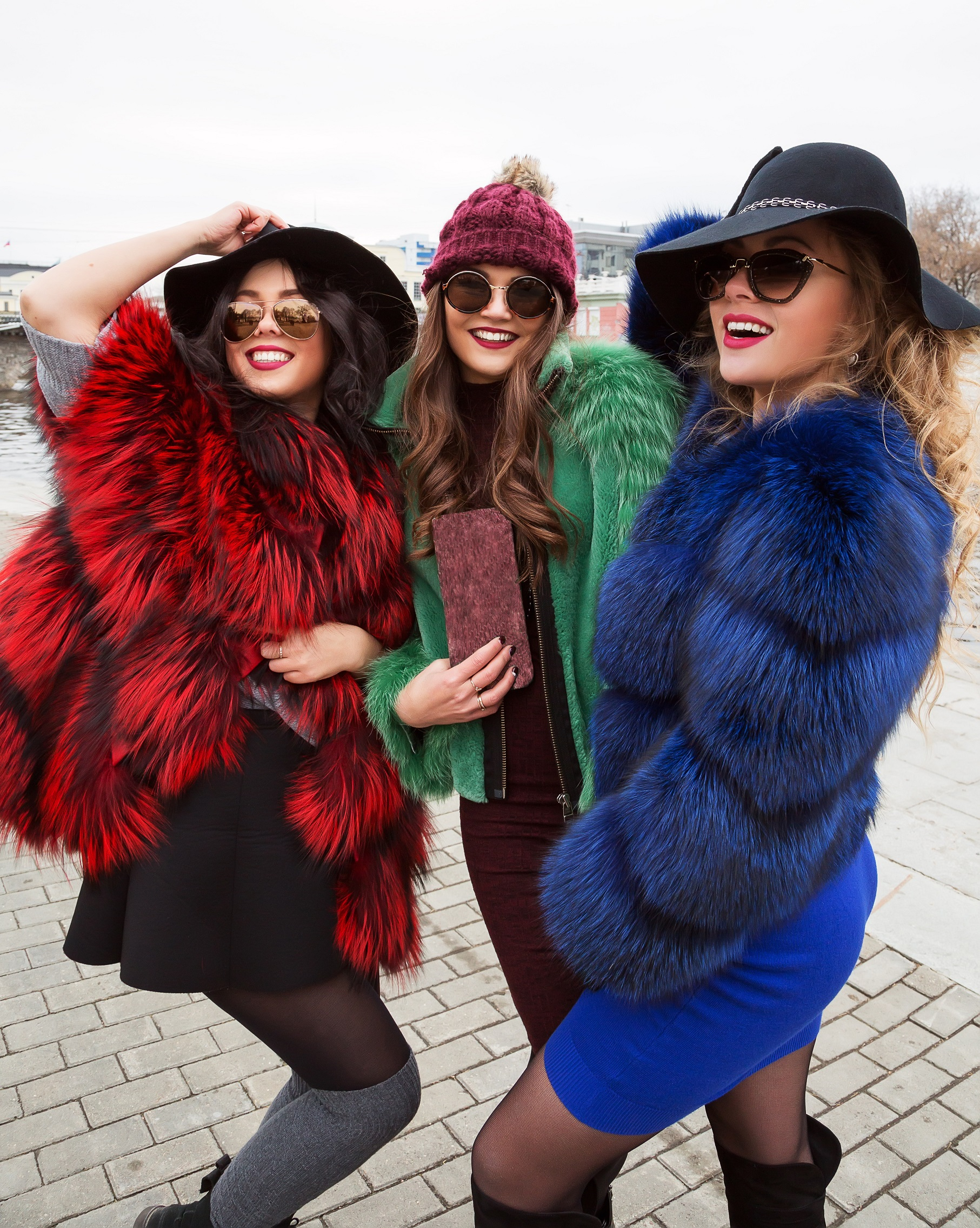 Invinge frigul cu outfituri cool! Haina de blana s-a reinventat