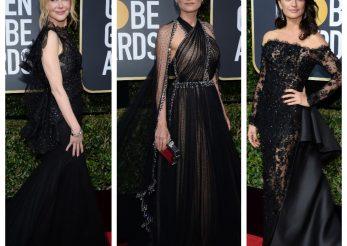 Globurile de Aur 2018. Rochiile negre au acaparat covorul rosu: care a fost motivul