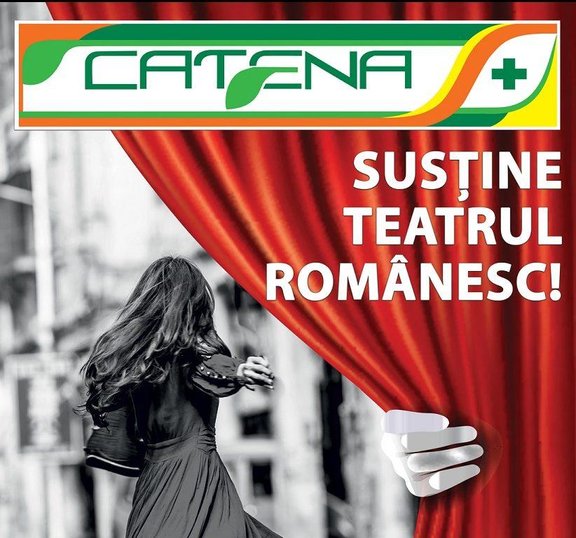 """Catena, sponsor principal al Festivalului International de Teatru """"Scena ca o strada"""""""