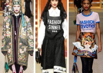 Saptamana Modei la Milano: Dolce & Gabbana sau moda ca religie