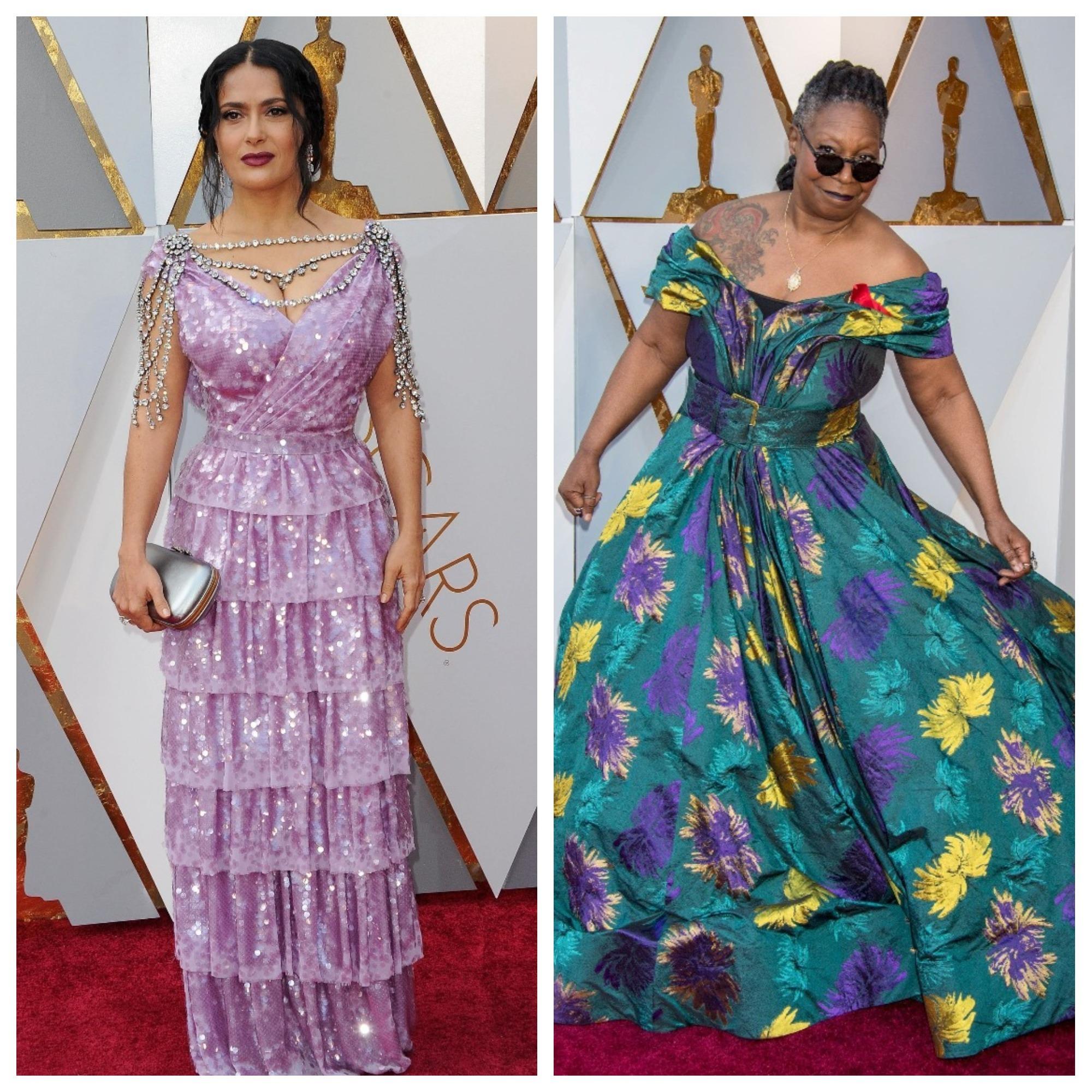 Vedete care au dat gres cu tinutele de la Oscar 2018