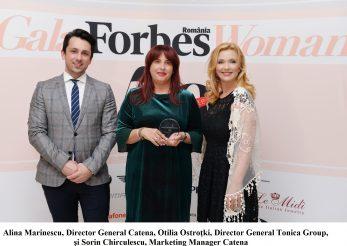 "Anca Vlad, desemnata ""Cea mai influenta personalitate din Business"" la Gala Forbes Woman 2018"