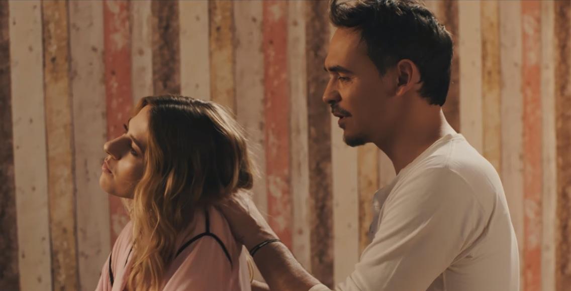 "Lidia Buble si iubitul Razvan Simion, scene demne de Holywood in videoclipul piesei ""Sub apa"""