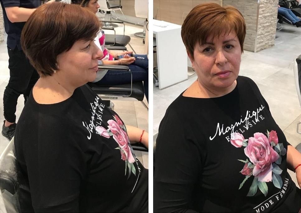 Schimbare de look by GETT'S Artistic Team: o castigatoare Tonica fericita!