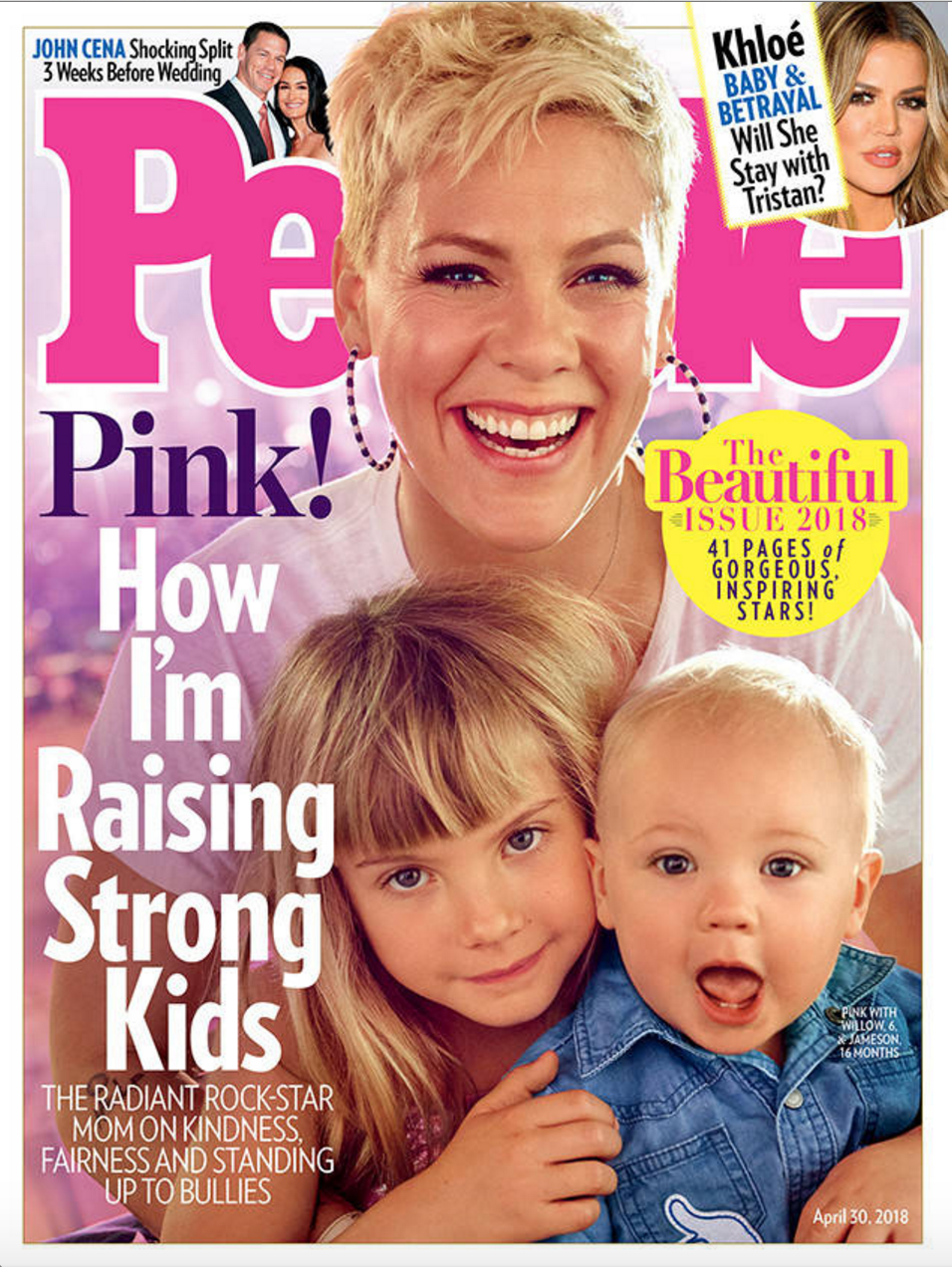 """Pink, aleasa de """"People"""" cel mai frumos om din lume! Ce calitati au contat, dincolo de aspectul fizic"""