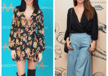 Stil de vedeta: imprimeuri florale si pantaloni culotte