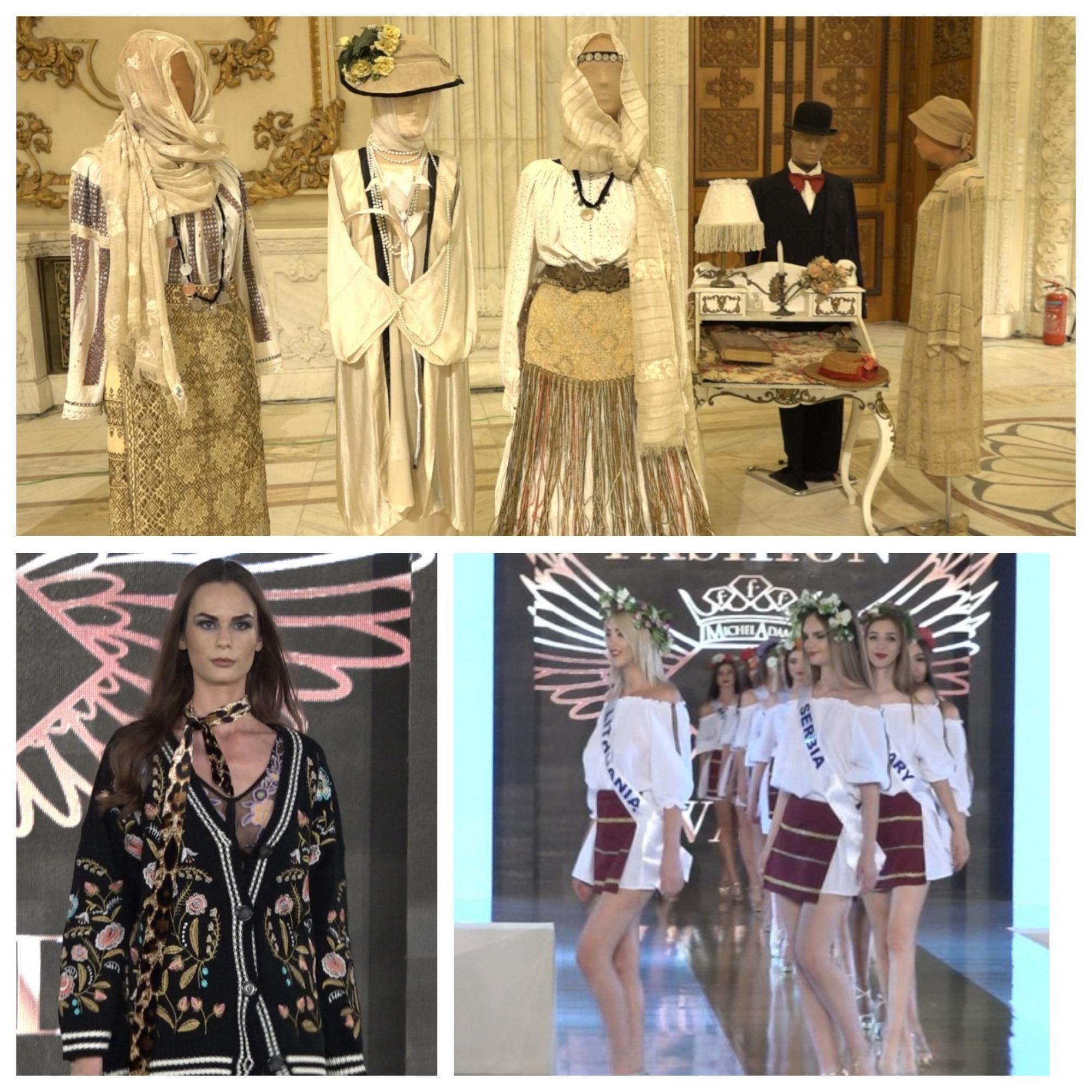 100 de ani de moda romaneasca