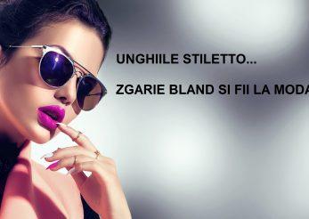 """Unghiile stiletto – """"zgarie bland"""" si fii la moda!"""