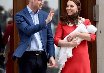 Printul Louis va fi botezat într-o tinuta simbolica pentru familia regala britanica