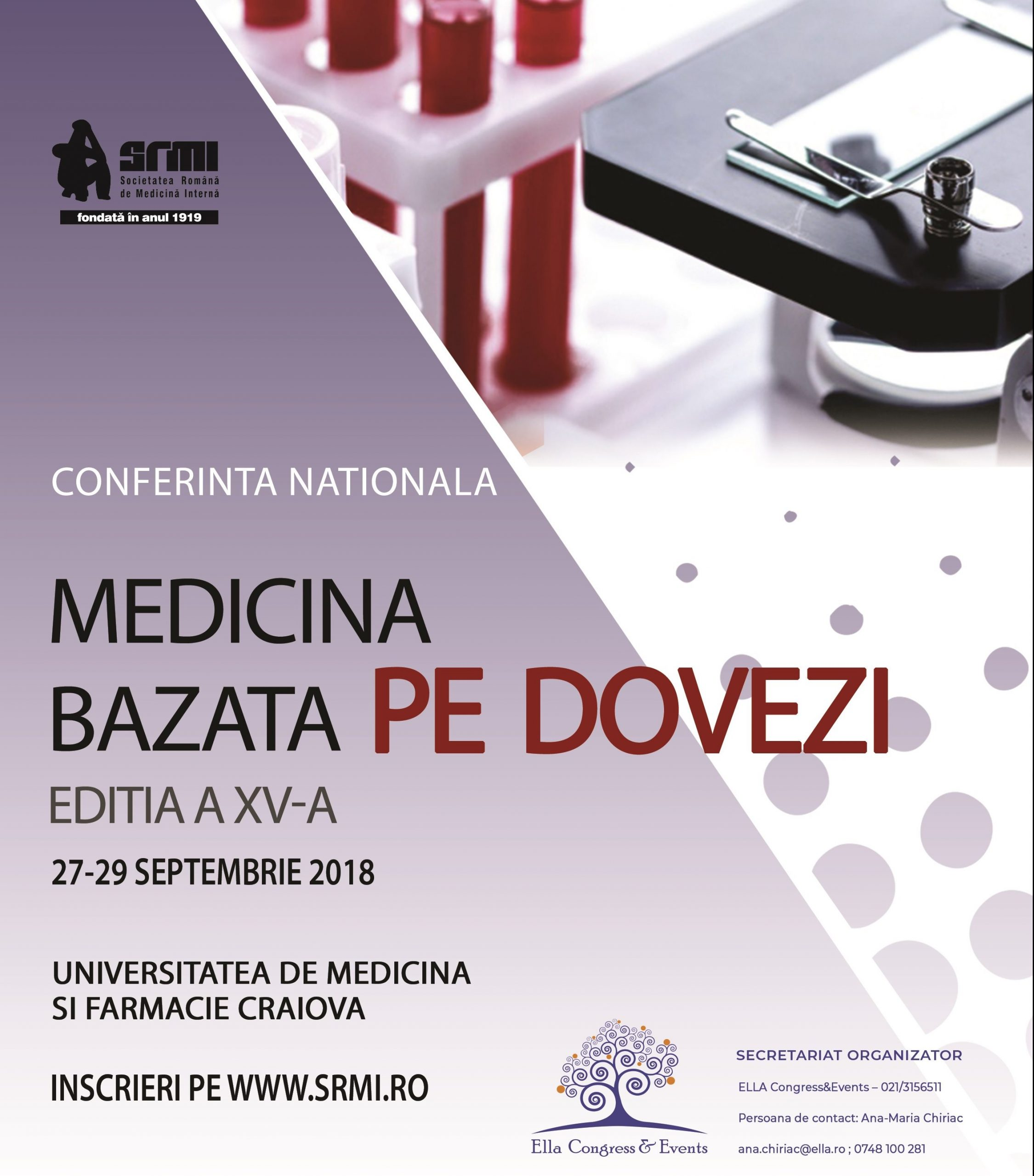 "Conferinta Nationala ""Medicina Bazata pe Dovezi"", la a 15-a editie"