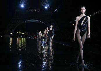 Saptamana modei de la Paris se desfasoara sub semnul apei