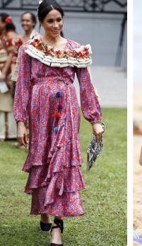Ducesa de Sussex, stil de gravida