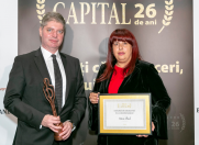 Anca Vlad a primit Premiul de Excelenta in Antreprenoriat, oferit de Revista Capital