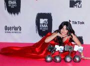 Premiile MTV Europa: Camila Cabello cele mai multe trofee si cea mai eleganta tinuta