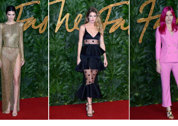 Cele mai spectaculoase tinute la British Fashion Awards