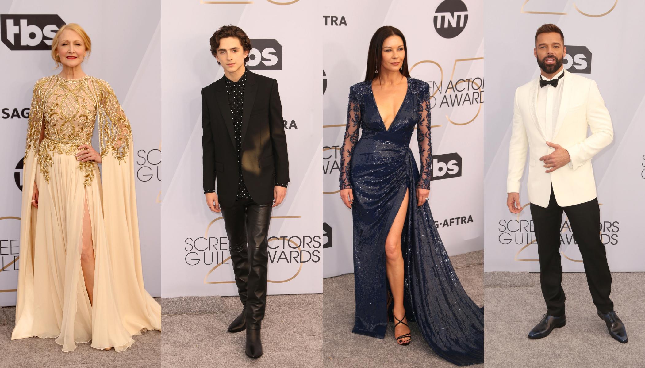 SAG Awards 2019: cele mai bune tinute de pe covorul rosu