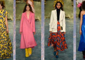 Moda si caini asortati la saptamana modei de la New York