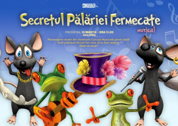 """""""Secretul palariei fermecate"""" este Cutiuta Muzicala!"""