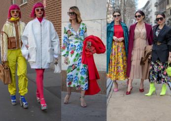 Milan Fashion Week, tendinte in imagini
