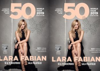 Lara Fabian va sarbatori 50 de ani la Bucuresti