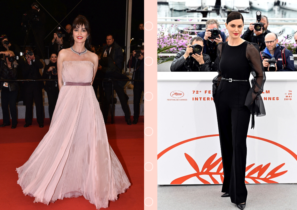 Catrinel Menghia, aparitie ravasitoare pe covorul rosu de la Cannes