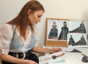 Elena Gheorghe – tinute personalizate la Sala Palatului