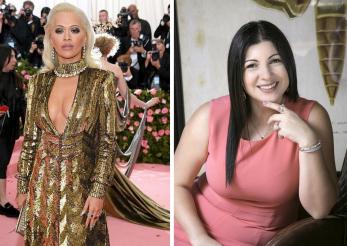 Rita Ora a purtat bijuterii create de o romanca la Met Gala 2019